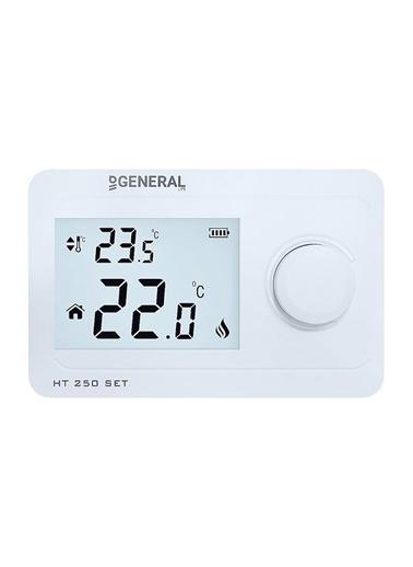 General Life HT250 SET Kablosuz Oda Termostatı Beyaz Beyaz